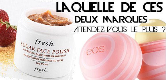 France nouvelles marques beauté