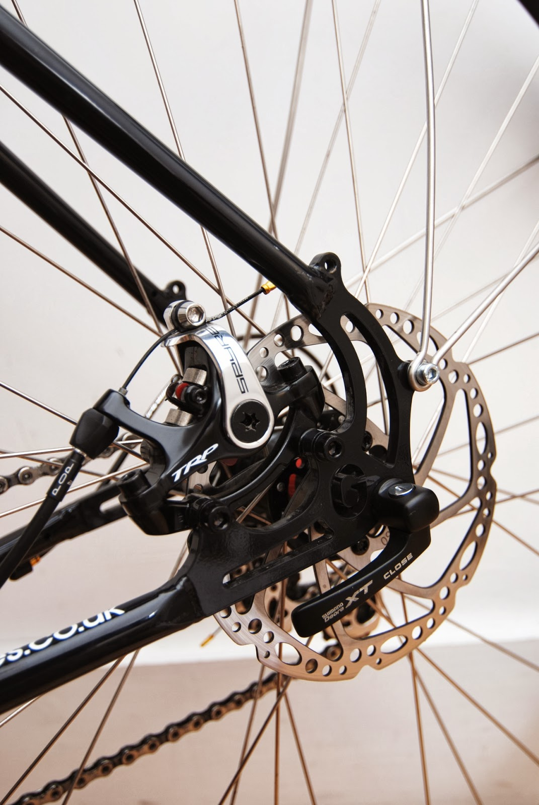 The Smut Pedaller Trp Spyre Disc Brake Review First