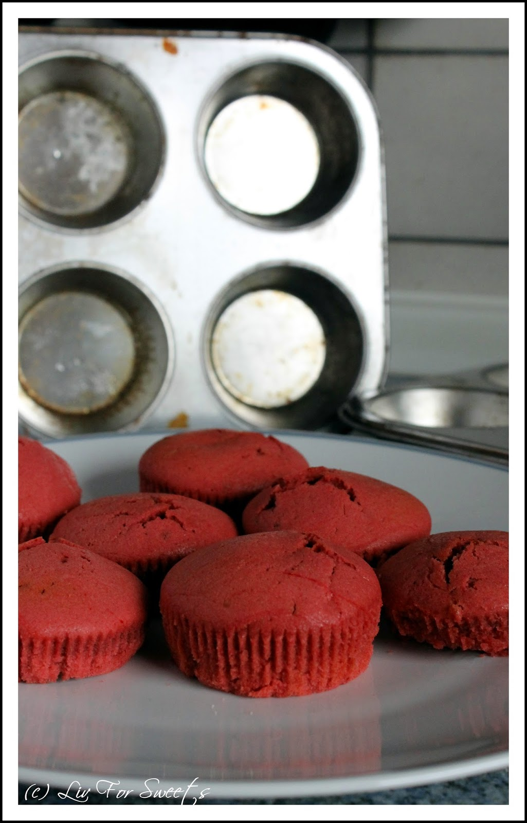 Red Velvet Cupcakes, Rezept, Thermomix