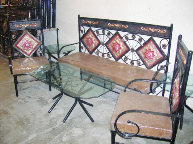 Wrought iron furniture designs ideas.