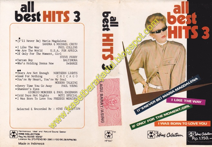 all best hits 3 hins collection