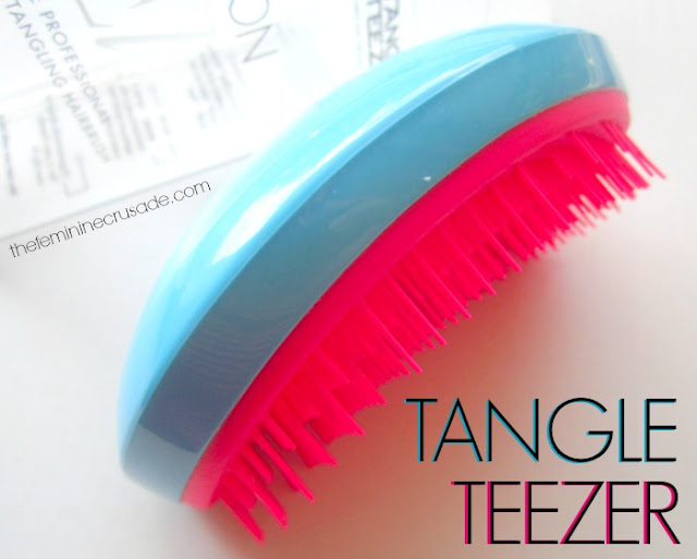 Tangle Teezer Salon Elite in Blue Blush