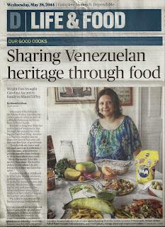 Sharing Venezuelan heritage through food