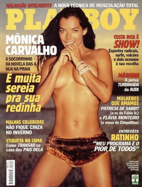 Mônica Carvalho - Playboy 2001