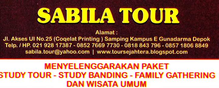 SABILA TOUR