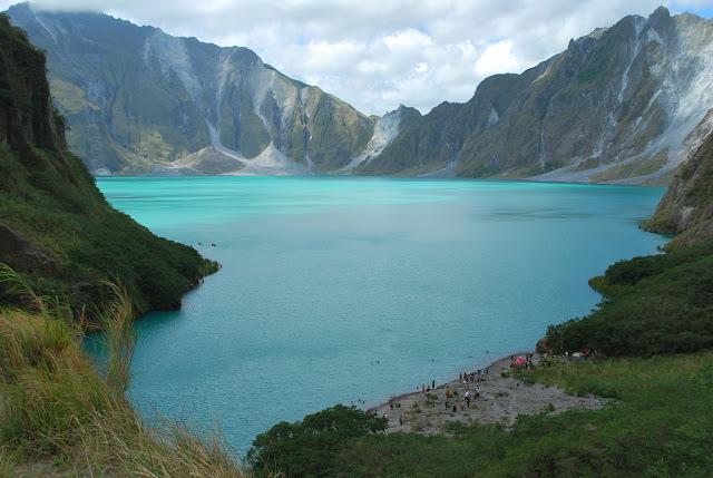 Pinatubo Volcano Crater Lake , Zambales