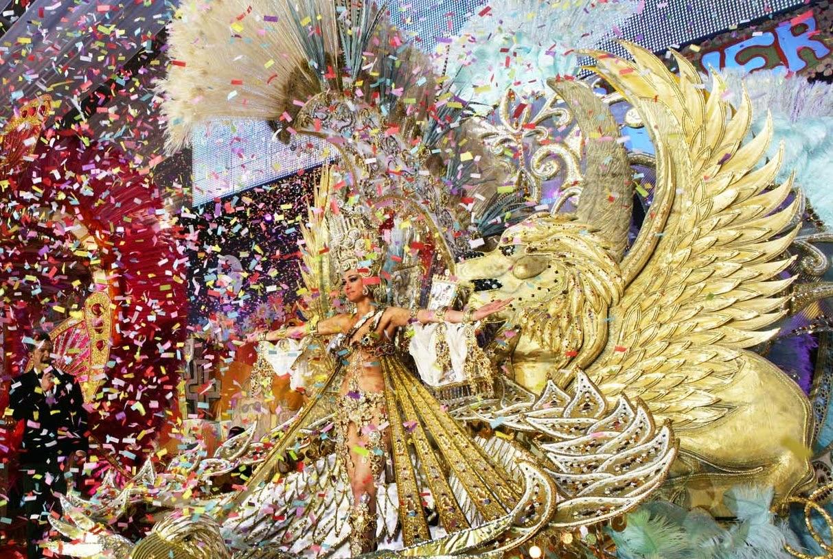 Carnaval de Santa Cruz de Tenerife. Los mejores carnavales del mundo