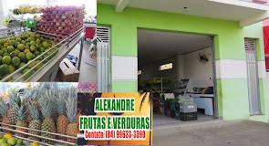 Em Alexandre você encontra o maior e mais variado espaço de frutas e verduras de Campo Grande