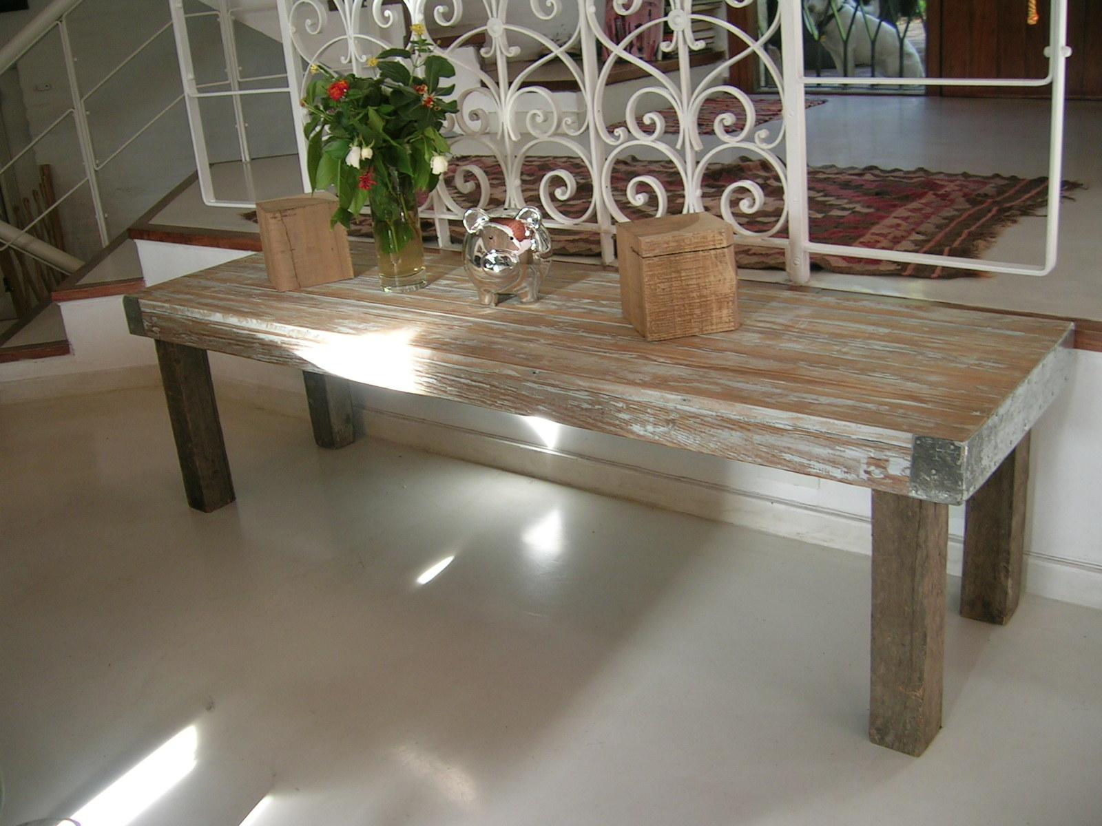 Mesa/banco. Pinotea. 1,70 x 0,50
