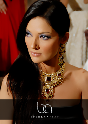 Models Wearing Bushra Aftab Jewellery