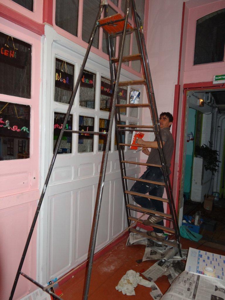 Ecole jeanne du lys nancy les travaux de peinture no l for Les travaux de peinture