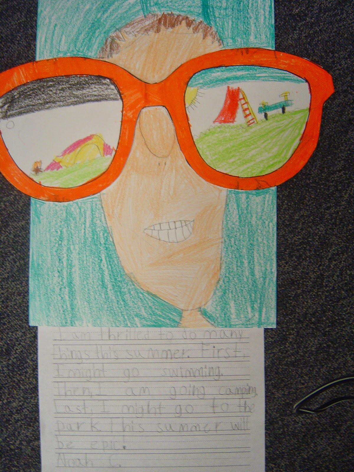 End Of The Year Projects Mrs Ts First Grade Class