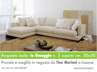 Divani blog tino mariani e 39 tempo di relax prova e acquista il divano isola con profondit - Profondita divano ...