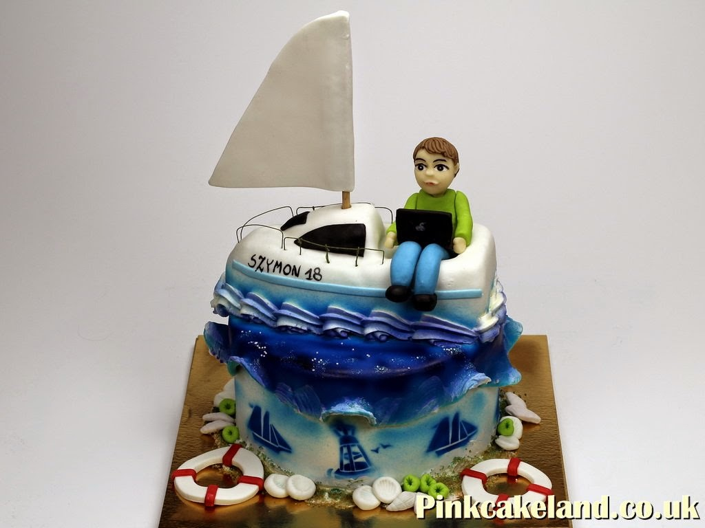Sailing Birthday Cake, London