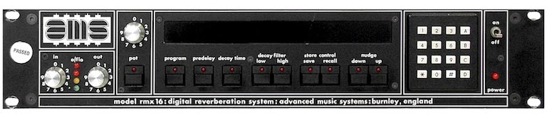 AMS RMX 16 Digital Reverb image from Bobby Owsinski's Big Picture production blog