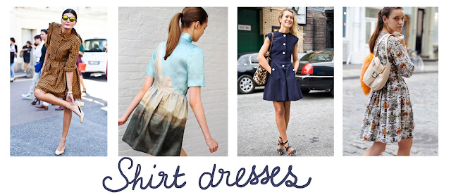 shirt dresses, summer inspiration