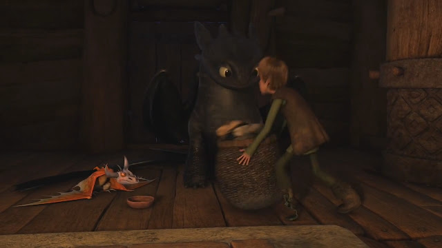 how to train your dragon audiobook 4