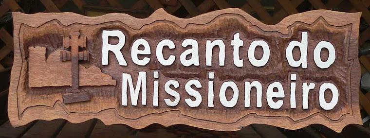 Placa entalhada, Recanto do Missioneiro