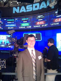 Nathan at the NASDAQ