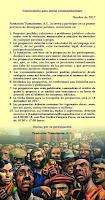 Fundación Tlamatinime A.C. CONVOCATORIA PARA ENVIAR RECOMENDACIONES