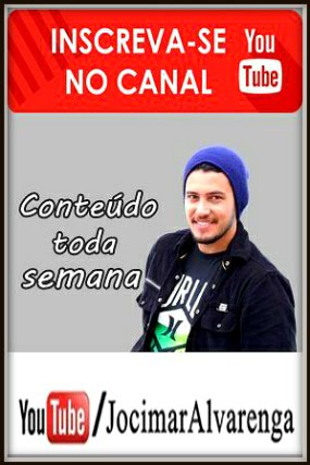 Youtuber Jocimar Alvarenga