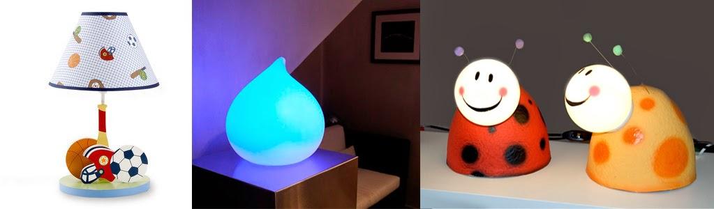 idées éclairages chambre bébé