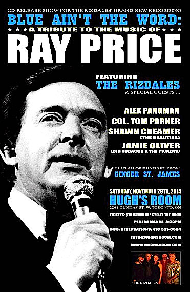The Rizdales CD release @ Hugh's Room, Saturday
