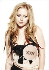 Avril Kavigne Tattoos