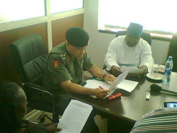Meeting with the new DG NYSC