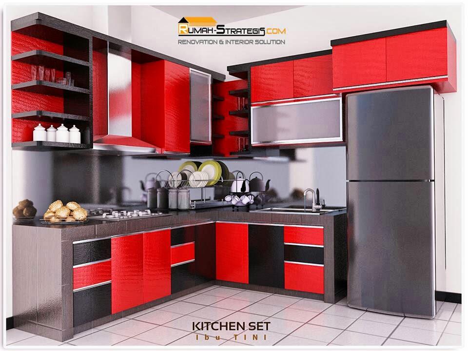 Tfq Architects Desain Interior Kitchen Set Jl Jendral Pekanbaru