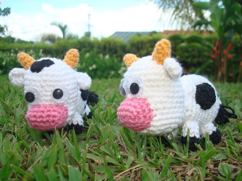 Amigurumi Vaca : Vaca migote amigurumi galeria