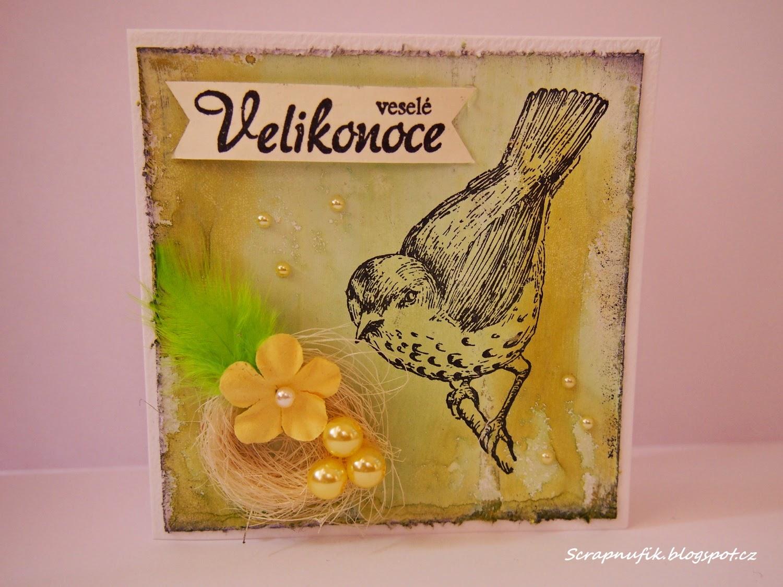 Cardmaking... Velikonoční přáníčka