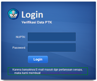 Cek Data Guru | verifikasi Data PTK