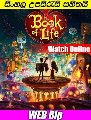 The Book Of Life 2014 Watch online with sinhala subtitle