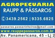 AGROPECUÁRIA RAUPP & PÁSSAROS
