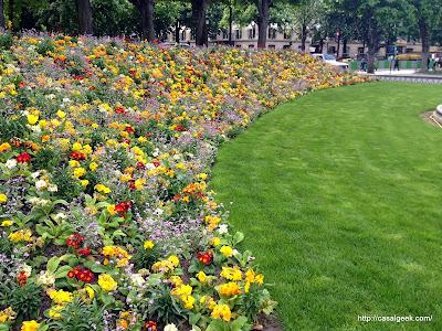 Descobrindo Paris 2014 - Parques e Jardins