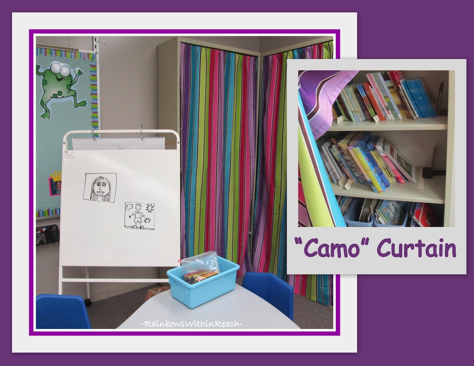Classroom Curtain Ideas : Rainbowswithinreach yet more classroom organization ideas