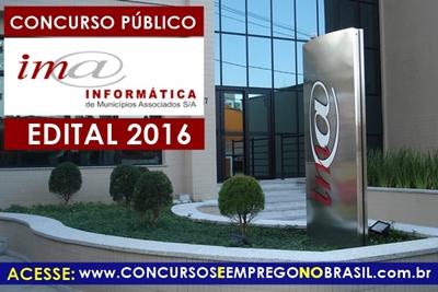Apostila Concurso IMA Campinas-SP 2016