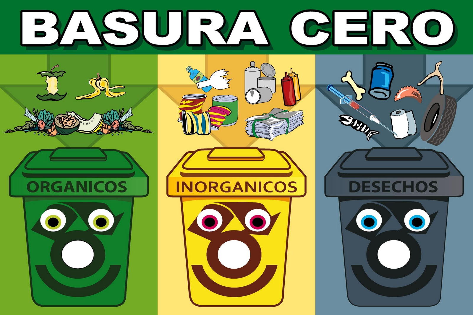 Porque Hago Del Baño Verde Oscuro:Reciclaje De La Basura