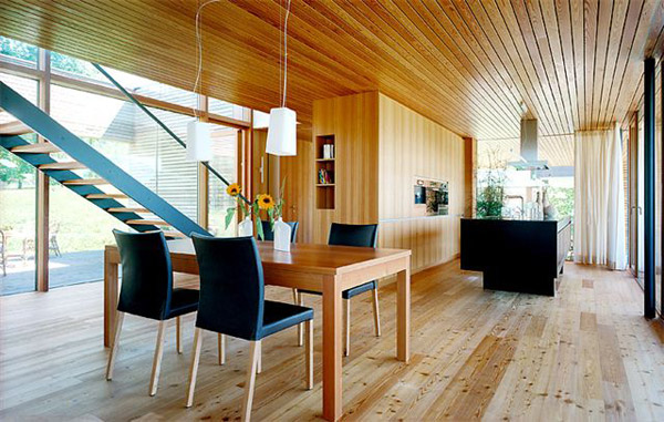 Austria Wooden Houses: Wood Clad Inside And Out   Modern House Plans ...