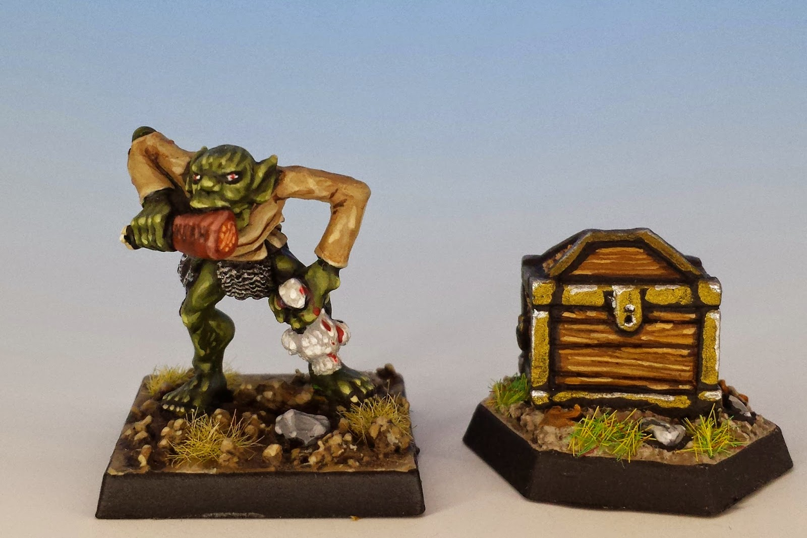 Treasure Chest C39, Citadel Miniatures (1984, sculpted by Rick Priestly)