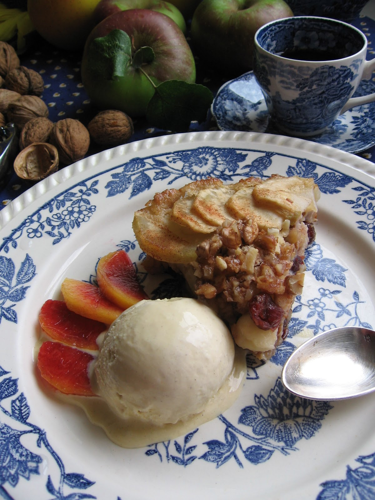 I-Lost in Austen: Cinnamon – Apple Walnut Torte