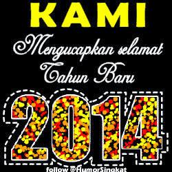 ... BBM Happy New Year 2014 Versi Animasi bergerak dapat didownload DISINI