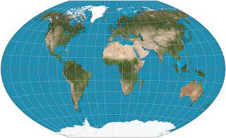 Proyección Winkel Tripel global