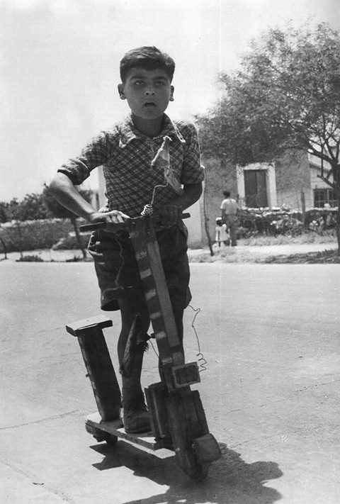 διαδρομές με πατίνι από τα παιδικά μας χρόνια