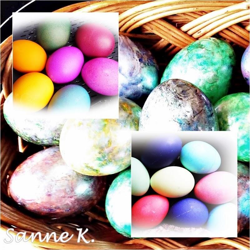 Eier kochen und f rben im varoma tm oder multikocher mit dampfgarfunktion sanne 39 s dings mit - Eier mittel kochen ...