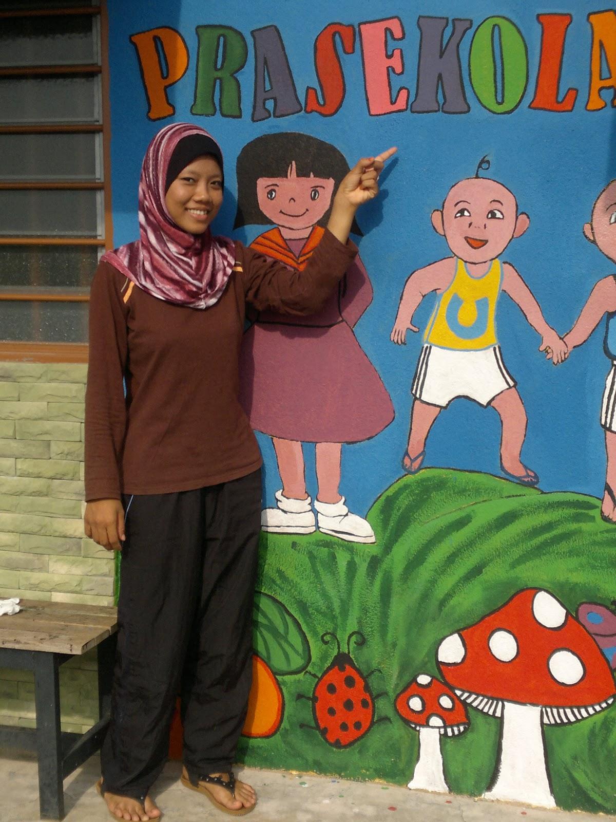 Prasekolah sk seri duyong melaka mural prasekolah cemerlang for Mural untuk kanak kanak