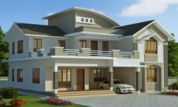 gambar Desain Rumah Mewah 2013