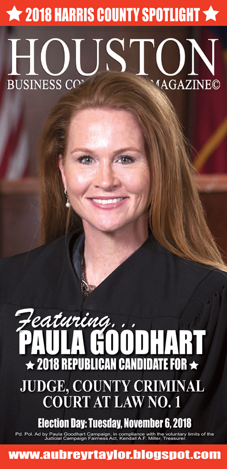 JUDGE PAULA GOODHART AND A FEW OTHER CONSERVATIVES WHO VALUE OUR VOTE AND SUPPORT!
