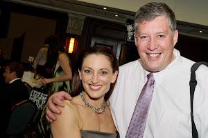 Georgie Parker and I